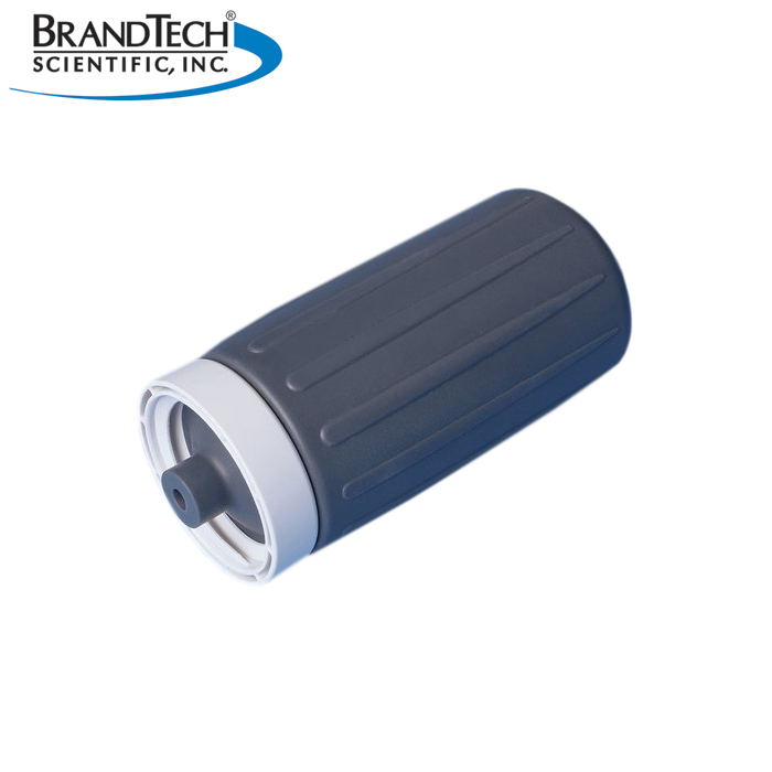 BrandTech Silicone Suction Bellows with Gray PP Screw Ring
