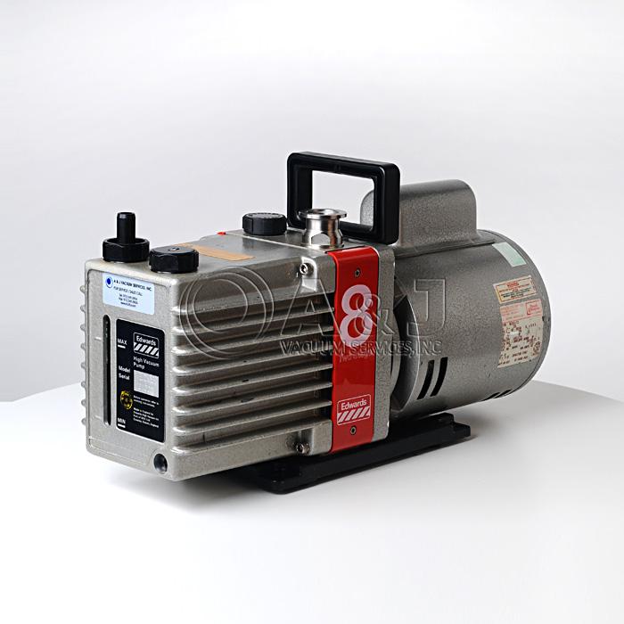Edwards E2m8 Vacuum Pump Dual Stage Rotary Vane