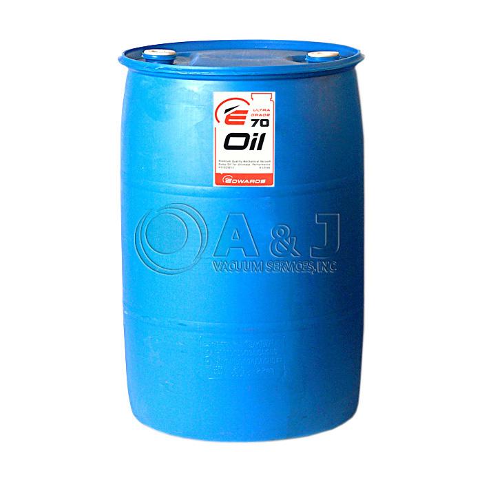 Edwards Ultra Grade 70 Hydrocarbon Vacuum Pump Oil 55 Gallons
