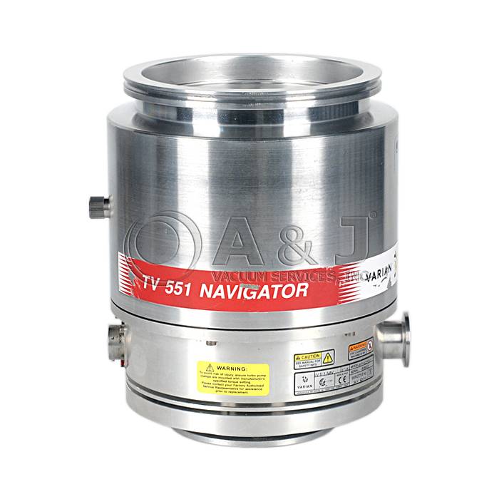 Fully Refurbished Agilent Varian Tv 551 Navigator Turbo Pump 9698922 Agilent V551 969 8922 Turbo Pump